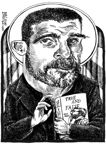 David Mamet for New York Press