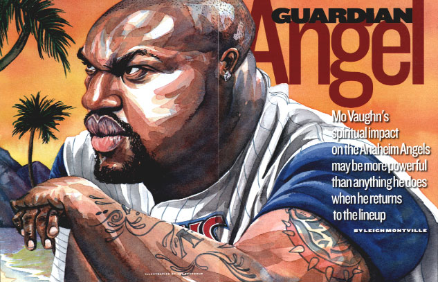 Mo Vaughn for Sports Illustrated