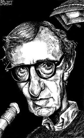 Woody Allen for New York Press